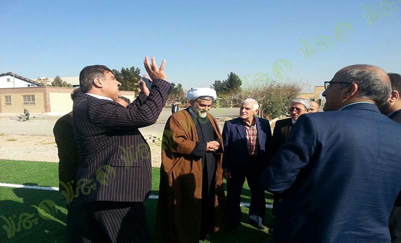 چمن مصنوعی هنرستان علی ابن موسی الرّضا