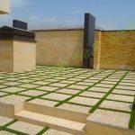 پروژه چمن مصنوعی بین سنگ