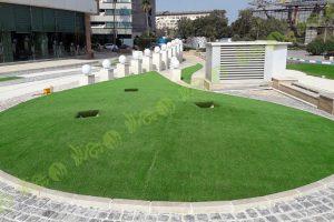 پروژه چمن مصنوعی محوطه هتل اطلس کیش