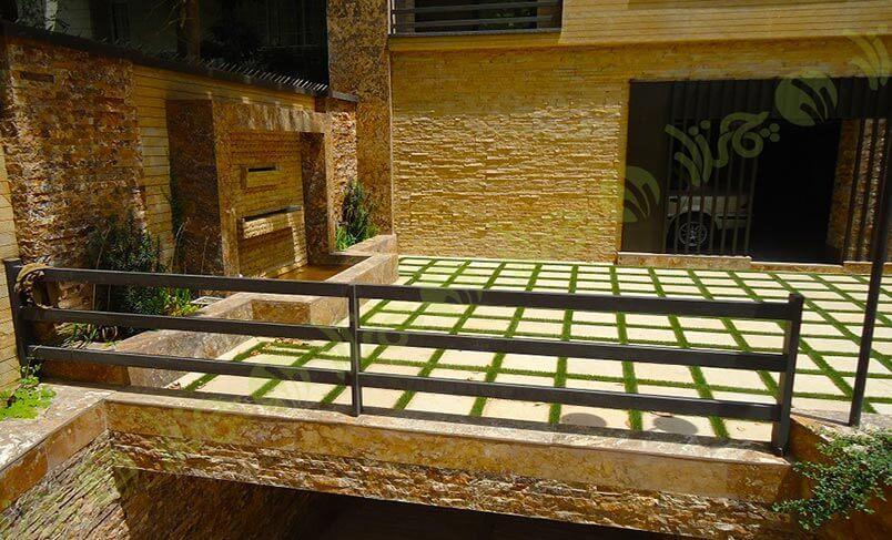 چمن مصنوعی بین سنگ عبدالوهاب