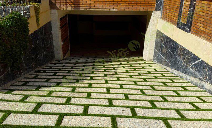 پروژه چمن مصنوعی بین سنگ زعفرانیه