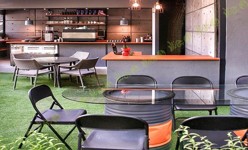 چمن مصنوعی کافه شهر کتاب 3