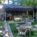چمن مصنوعی کافه خانه شهر کتاب
