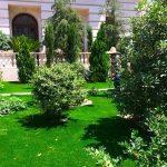 پروژه چمن مصنوعی حیاط زمانی