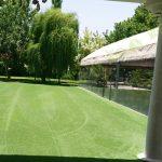 چمن مصنوعی باغ تالار میرزایی