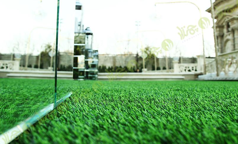 چمن مصنوعی باغ سالن دنیل 7