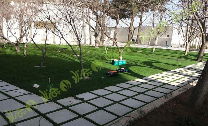 پروژه چمن مصنوعی باغ ملک 3