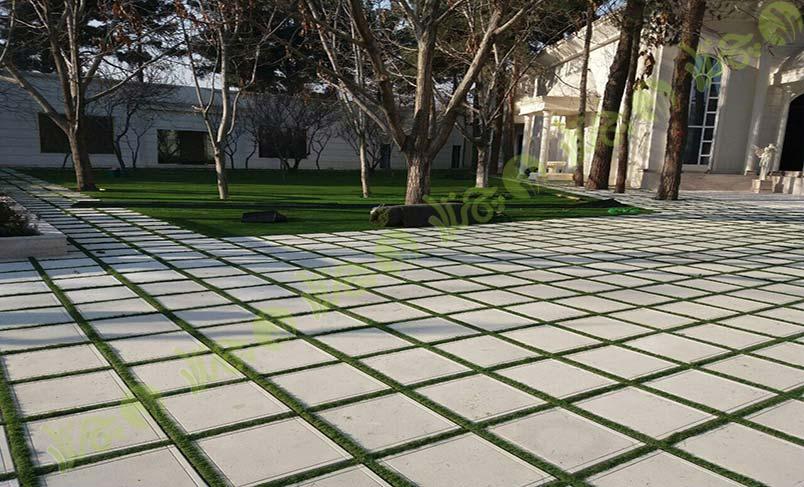 پروژه چمن مصنوعی باغ ملک 4