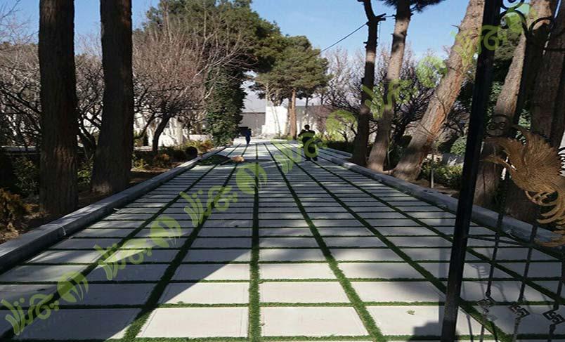 پروژه چمن مصنوعی باغ ملک 6