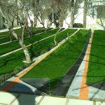 پروژه چمن مصنوعی باغ ملک 9