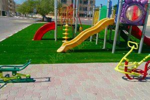 پروژه چمن مصنوعی پارک محلی