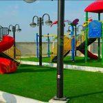 چمن مصنوعی پروژه پارک محلی بناب