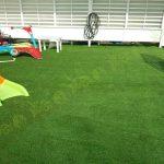 چمن مصنوعی فضای بازی شخصی در خیابان سئول