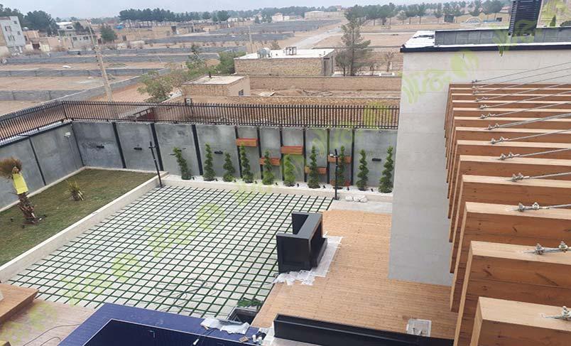 پروژه چمن مصنوعی کنار استخر اصفهان 3