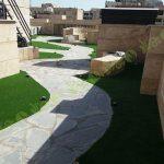 چمن مصنوعی سقف باغ قیطریه 3