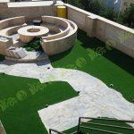 پروژه چمن مصنوعی سقف باغ قیطریه 4