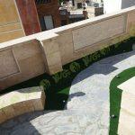 چمن مصنوعی سقف باغ قیطریه 5
