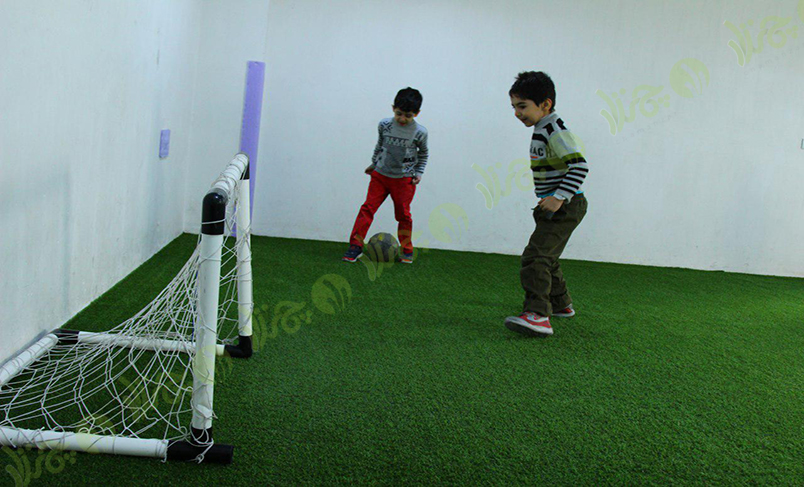 سالن چمن مصنوعی مینی فوتبال مدرسه الفبای تربیت اسلامی