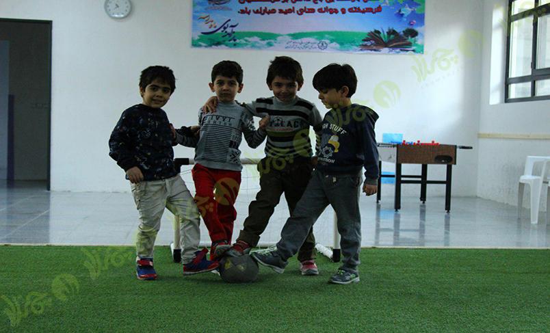 پروژه چمن مصنوعی مدرسه الفبای تربیت اسلامی 3