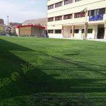 پروژه چمن مصنوعی مدرسه امید شهرکرد