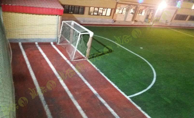 پروژه چمن مصنوعی مدرسه امید شهرکرد 3