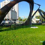 چمن مصنوعی فضای شهری سعادت آباد