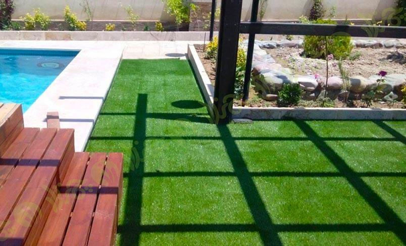چمن مصنوعی حیاط دماوند
