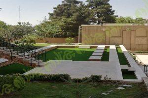 چمن مصنوعی حیاط - مجتمع پارک
