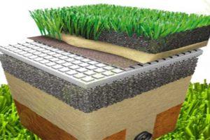 سیستم چمن مصنوعی و طراحی و ساخت آن