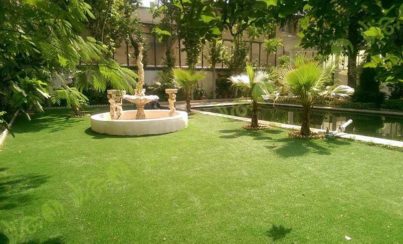 پروژه چمن مصنوعی باغ آتلیه عروس