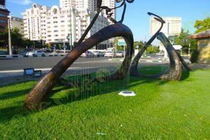 چمن مصنوعی فضای شهری