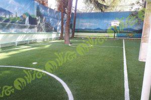 چمن مصنوعی زمین فوتبال مدرسه صراط