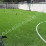 چمن مصنوعی زمین فوتبال کوچک