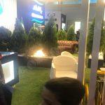 چمن مصنوعی غرفه محصولات غذایی بانامان