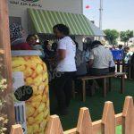 چمن مصنوعی در غرفه محصولات غذایی سحر