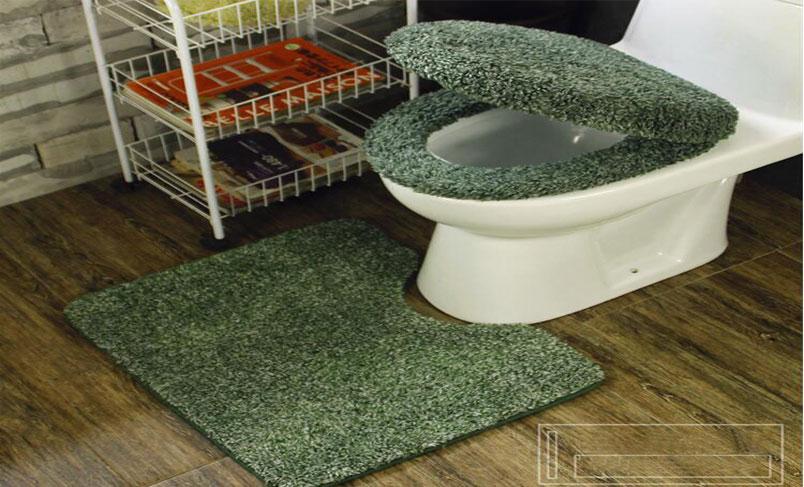 چمن مصنوعی توالت فرنگی