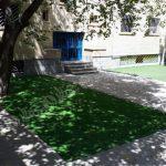 چمن مصنوعی مدرسه شهر ری