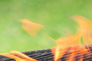چمن مصنوعی آتش می گیرد