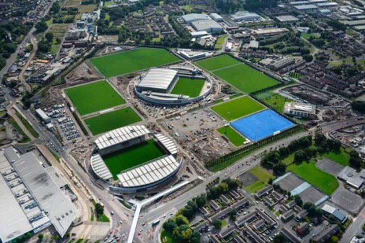 زمین تمرین فوتبال چند باشگاه برتر در جهان