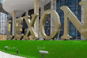 چمن مصنوعی فضای سبز در پروژه لکسون