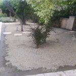 چمن مصنوعی باغچه حیاط محله ونک