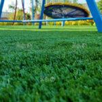 چمن مصنوعی زمین بازی کودکان ویلای تنکابن