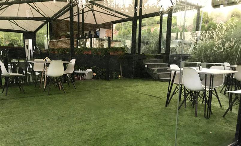 چمن مصنوعی کافه