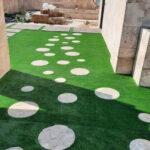 چمن مصنوعی روف گاردن در محله زعفرانیه