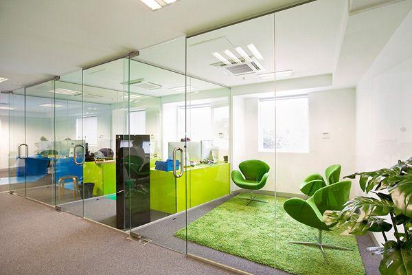 فضای سبز در محیط کاری