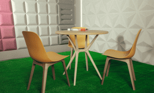 میز و صندلی تیکا