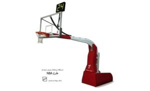دستگاه بسکتبال طرح NBA