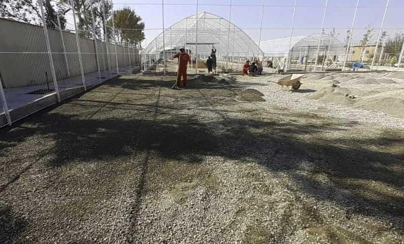 زیرسازی چمن مصنوعی زمین بازی