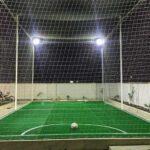 چمن مصنوعی مینی فوتبال در ویلای شخصی